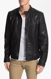 black leather er jackets sel sel lagnum leather racing jacket