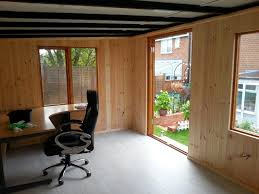 running home office. This Home Office Was Internally Clad With Vertically Running Tongue And Groove Shiplap. E