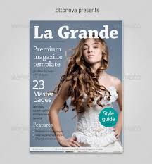 Indesign Magazine 50 Indesign Psd Magazine Cover Layout Templates Web Graphic