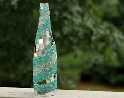 mosaiced bottles - Google Search