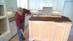 Tip for Finishing an Island Cabinet in Your Kitchen | Today's Homeowner