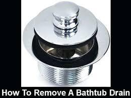 pop up tub drain stopper push pull pop up bathtub drain