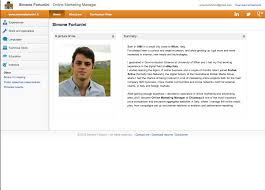 simple resume website the best online resume ever careergravity simple resume sample 32907