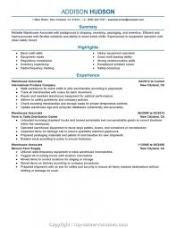 Titles For Resume Executive Warehouse Job Titles Resume Warehouse Worker Resume Ideal