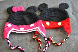 Mickey Mouse Crochet Pattern Free Simple Decoration