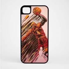 lebron dunking apple logo case. lebron james cleveland ipod 5 case dunking apple logo