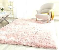 fluffy area rugs white