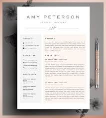 60 Awesome Cute Resume Templates Free | Resume Template