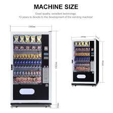 Soda Vending Machine Size Inspiration China Soda Bottle Combo Vending Machines LV48L48A China Soda