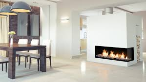 Flare Modern Fireplace - Right Corner 60