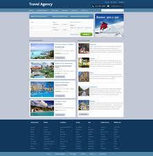 Travel Templates Free Travel Agency Website Template Travel Website Templates
