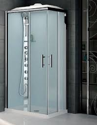 shower cubicles self contained. Silicone Free And Leak All-in-one Offset Corner Shower Cubicle Cubicles Self Contained F