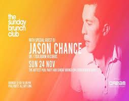 The Sunday Brunch Club Feat Jason Chance Sun 24th Nov 2019