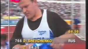 5049 European Track & Field Discus Men Dmitry Shevchenko - YouTube