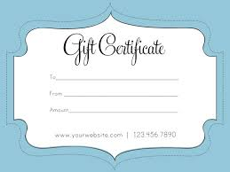 Gift Voucher Template Free Download Custom Free Business Gift Certificate Template Experiencenow