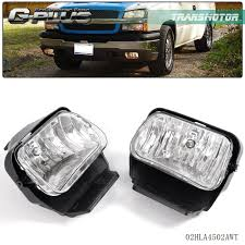 2005 Silverado Fog Light Bulb Number Details About 2003 2006 Chevy Silverado Avalanche Bumper Fog Lights Lamps Left Right 04 05 06