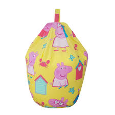 Peppa Pig Bedroom Accessories Peppa Pig Multicolour Bean Bag Departments Diy At Bq