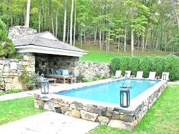 homemade inground pool cover cinder block kits pools