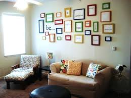 decorating with empty picture frames picture frame wall decor ideas photo of good less frames as