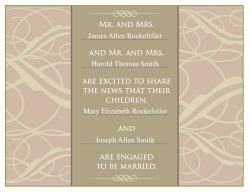 Wedding Announcement Photo Cards Free Engagement Announcement Cards Lovetoknow