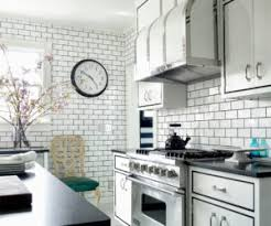 tile kitchen countertops white cabinets. Dress Your Kitchen In Style With Some White Subway Tiles! Tile Countertops Cabinets L