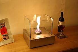 chelsea tabletop bioethanol fireplace contemporary elements