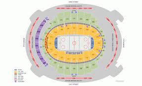 Rangers Seating Chart New York Rangers Home Schedule 2019 20 Seating Chart