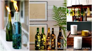 Lights For Wine Bottles Home Lighting Ideas Expressed With Wine Bottle Crafts