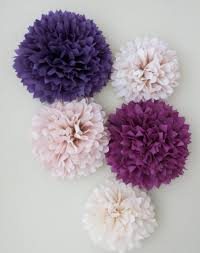 Pom Pom Decorations Pom Pom Decorations Gender Reveal Party How To Make Tissue Paper
