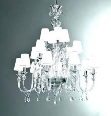 chandeliers white modern chandelier large incredible with shades clear
