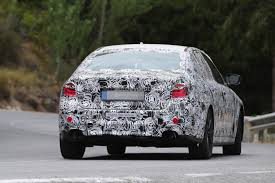2017 BMW G30 5 Series Spied Closer, Prototype Interior Hints at 7 ...