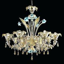 glass chandelier vintage parts murano