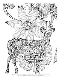 Small Picture Happy Flower Design Coloring Page For Adults coloring page