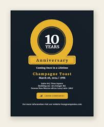 anniversary poster template 18 best anniversary flyer templates psd ai indesign free