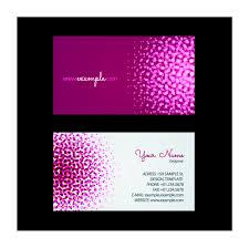 Digital Print Name Card