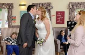 acle bride hannah griffiths gets married in care home for 95 year Wedding Jobs Plymouth hannah griffiths and james leeming get married at a plymouth care home in front of her wedding planner jobs plymouth
