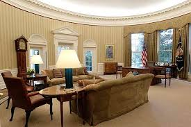 oval office furniture. The Oval Office Got New Furniture, Wallpaper, And A Custom Rug While President Obama Was On Vacation. Furniture 0