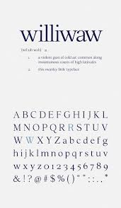 williwaw book old english font