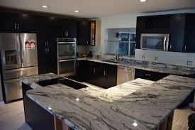 White Ice Granite Kitchen Laguna Granite Countertop Zsolt Granite Corporation