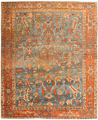 blue and orange oriental rug designs