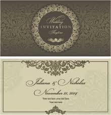 Free Download Wedding Invitation Templates Free Download Wedding Invitation Designs Free Vector Download 2 769