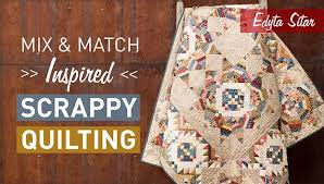 Mix & Match: Inspired Scrappy Quilting Class | Craftsy & Preview Adamdwight.com