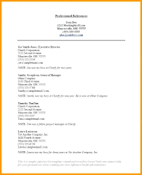 Resume Reference Sheet Template Sample Personal List For