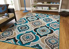 brown and grey area rugs new com modern blue gray 8x11 rug casual 8x10 in 13