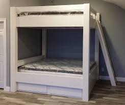 custom bunk beds sasquatch king over king or queen over queen bunk bed