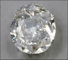 Mountain Of Light Diamond Like The Hope Diamond The 105 6 Carat Koh I Noor Diamond Is