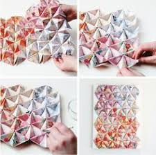 things i ve made from things i ve pinned diy 3d origami wall art  on 3d paper wall art tutorial with 62 best images on pinterest paper crafts creative ideas