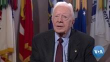 Jimmy carter hospitalized with fractured pelvis after a fall. Jimmy Carter Wikipedia