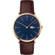 ultra thin watches buy slim watches british watch company lacoste men s ultra slim navy rose moon watch