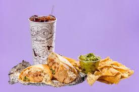 chipotle carnitas burrito 945 chips and guacamole 770 e 276